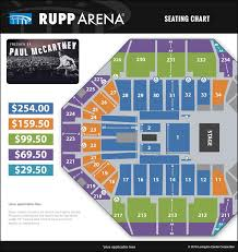 Seating Chart For Paul Mccartney 15 New Rupp Seating Chart Images Percorsi Emotivi Com