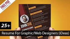 Modern Resume Infographics 28 Best Resume For Graphic Designers Psd Ideas With