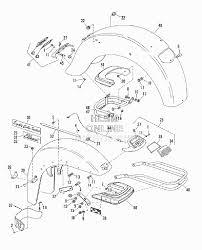 Запчасти для Мотоцикла harley davidson 1982 fltc 1340 tour glide clasic db Раздел fenders w bumper
