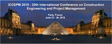 Approaching Conference Iccepm 2018 20th International Conference