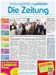 Limburgweilburg Erleben Kw 27 09072010 Die Zeitung