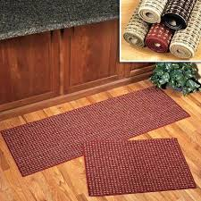 washable rug runners adorable kitchen runner rugs multi color cotton