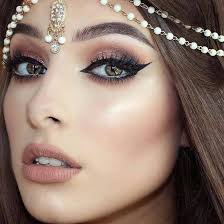 circles under your eyes then hide it powder or foundation then start with basic steps so lets discuss about plete steps how to apply arabic makeup