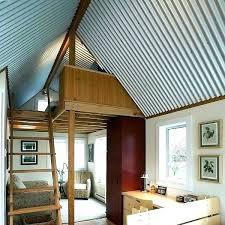 corrugated metal ceiling panels interior