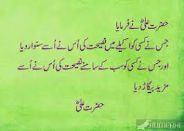 Hazrat Ali Ra Beautiful Quotes