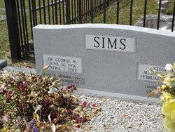 Dr George W Sims (1936-2017) - Find A Grave Memorial