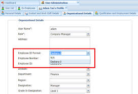 Employee Profile Format How To Set Up Employee Id And Job Id Format In Hrms