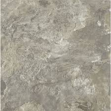 Temporary Kitchen Flooring Shop Armstrong Crescendo 12 In X 12 In Groutable French Gray Peel