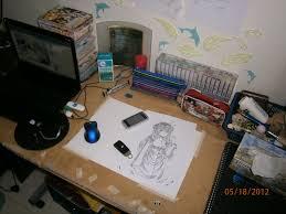 my workstation art supplies vid by angelicsmana