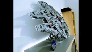 Lego 75192 Display Stand LEGO Millennium Falcon 100 LEGO Technic Vertical Stand MOC YouTube 2