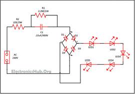 led lighting circuit diagram facbooik com Led Lamp Wiring Diagram led 110v wiring diagram on led images led autolamps wiring diagram