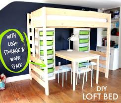 loft bed with storage and desk how to build a loft bed with storage and workspace