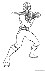 Blue Power Ranger Coloring Pages On Blue Images. Free Download ...