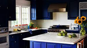 Kitchen Cabinets Blue Blue White Two Tone Kitchen Cabinets Design Ideas Of Two Tone