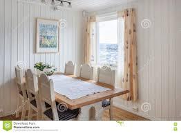 Modernes Esszimmer Stockbild Bild Von Dekoration Dekor