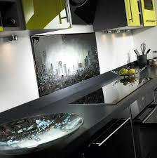 Black Splashback Kitchen Fused Glass Portfolio Kitchen Splashbacks Fused Glass Art