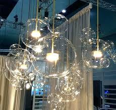 bubble light bubble light mickey glass bubble light clear ball pendant lamp chandelier bubble lights replacement bubble light