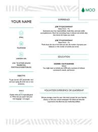 cv template word francais 19 free resume templates you can customize in microsoft word