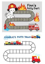 Potty Training Train Chart Potty Train Chart With Stickers
