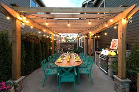 outdoor pergola lighting. Pergola Lighting Ideas String Lights Five To Illuminate Your Outdoor Space
