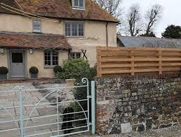 garden screen fence the oak rope