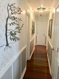 hallway finally. Stenciled Hallway Finally Finished Pinterest