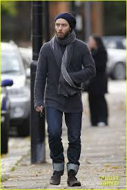 england style steps: jude law watches rudys soccer game photo jude law steps out on saturday december to support his son rudy at his soccer game in london england