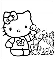 Just print out and have fun! Hello Kitty Free Printable Coloring Pages For Kids