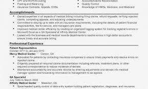 Medical Billing Job Description For Resume Detail Billing