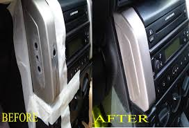 holes in dashboard and fascia repaired in the west midlands