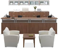 2 person reception desk High End Person Reception Workstation By Office Source Modern Office Person Reception Workstation By Office Source Desks In 2019