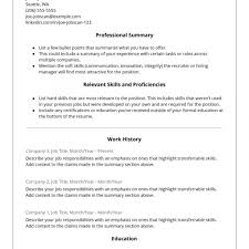 Bistrun Hybrid Resume Template Resume Template And Cover Letter