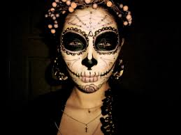 easy day of the dead makeup photo 2