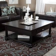 black coffee table. Large Black Coffee Table