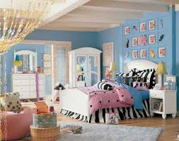 Cute Teens Bedroom Design Ideas Using Blue Wall Paint And DIY Wall Enchanting Paint Designs For Bedroom Creative Plans