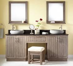 bathroom vanities vessel sinks sets. Easily Double Bathroom Vanity With Makeup Area Ariel Bath Roosevelt 97 Sink Set Mirror And Vanities Vessel Sinks Sets T