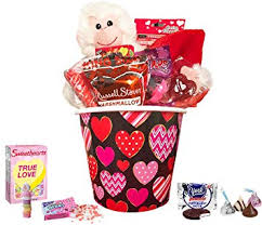 valentine day gift for her him valentines gifts basket set for kids all