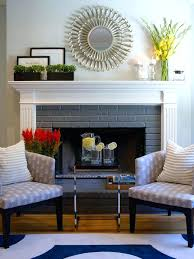 red brick fireplace mantel ideas best decorations on mantle decor f