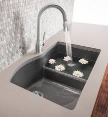 Splash Galleries Blanco 441591 Kitchen Sink With Low Divide Raleigh NC  U0026 Bath Blanco Cinder Sink40