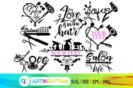 There is no resolution in vector art editing svg graphics. Hair And Make Up Svg Salon Svg Graphic By Artinrhythm Creative Fabrica
