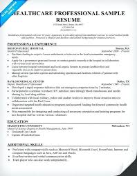 medical resume samples best solutions of healthcare professional resume  sample in sample medical resume sample objective