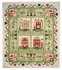257 best Houses Quilt Themes images on Pinterest | DIY, Children ... & Heartbeat Quilts | Block of the Month