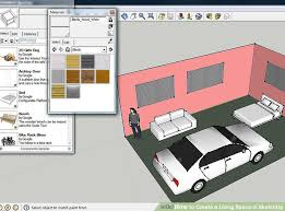 image titled create a living space in google sketchup step 9