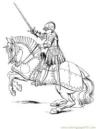 Small Picture Enjoyable Inspiration Ideas Knight Coloring Pages Knights And