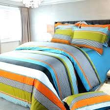 gallery of blue green orange teen boy bedding full queen quilt set striped great boys 5