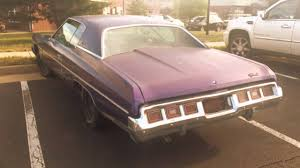 1973 Chevy Caprice and Impala For Sale - YouTube