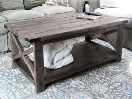 gorgeous gray wood coffee table rustic wood coffee table