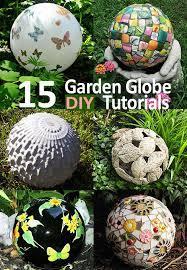 top 15 diy garden globes gazing