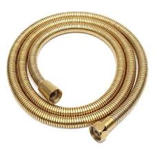 1 5m gold shower head hose long flexible stainless steel bathroom water tub x4h5