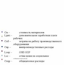 Калькуляция себестоимости Дипломная работа Мезонинный адаптер  К алькуляция полной себестоимости